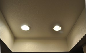 Feit Electric BR30 LED Bulb Installed in Ceiling Recessed Area