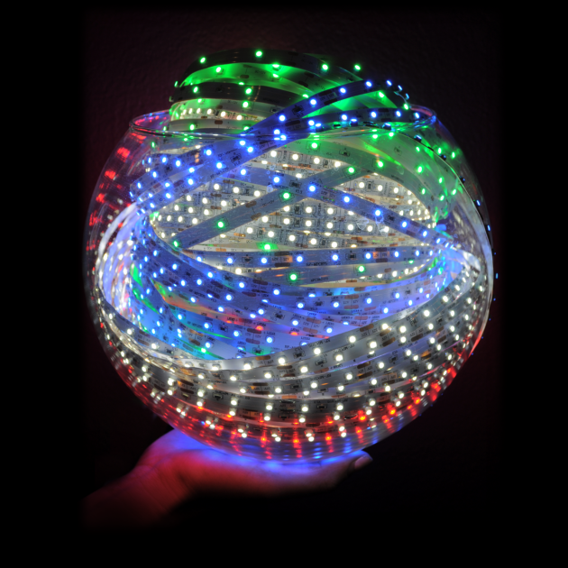 Ball of LED Lights