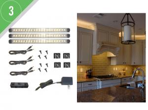led lighting small kitchen kit