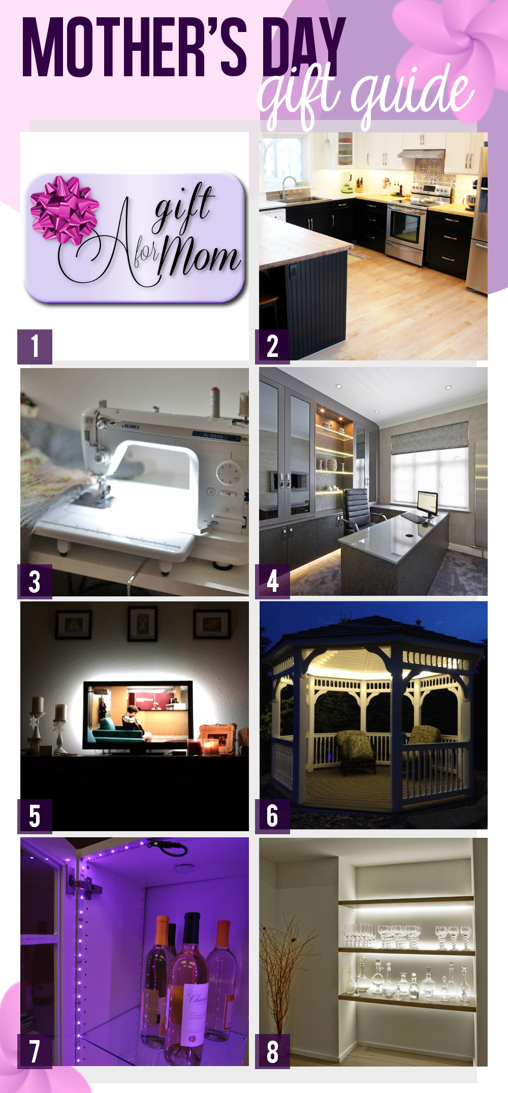 LED Lighting Ideas for Mother's Day - Your Mom Deserves Something Special
