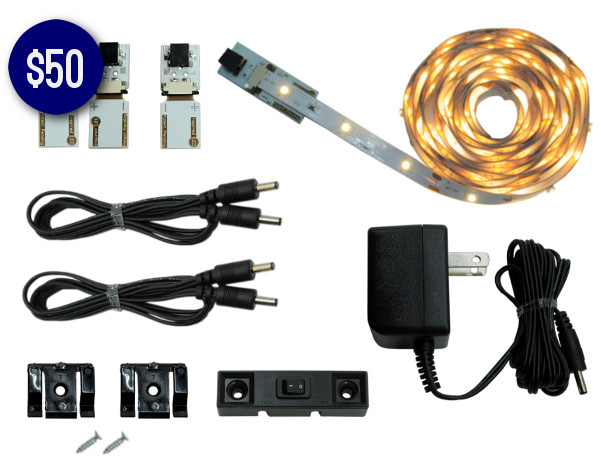 7 LED Lighting Kits for Under $79 - Cut and Connect Normal Bright 3 Meter Kit