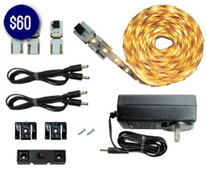7 LED Lighting Kits for Under $79 - Cut and Connect Super Bright 3 Meter Kit.jpg