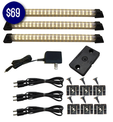7 LED Lighting Kits for Under $79 - Designer Series  10 Inch Deluxe Kit