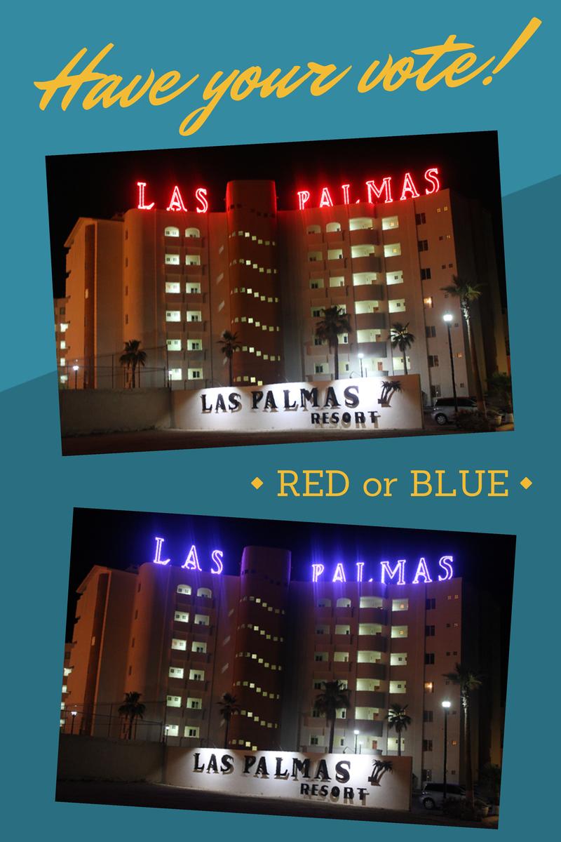 Las Palmas RGB Color Changing LED Lights in Puerto Penasco, Mexico