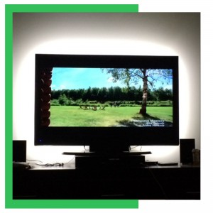 Father's Day Gift Guide 2014- TV Backlight Lighting