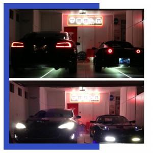 Father's Day Gift Guide 2014- Garage Tesla LED Lighting