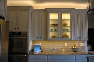 Installing Flexible Strip Lighting in Glass Cabinets