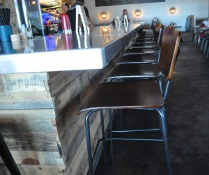 Salut Kitchen Bar, before LED accent lighting