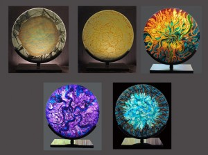 specialty ligthing glass art pieces