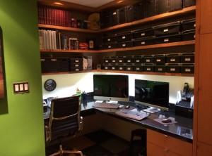 in-home office lighting hardwire