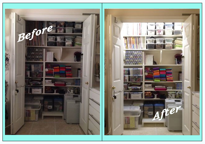 before and after winner closet