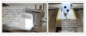 sewing machine kit feedback
