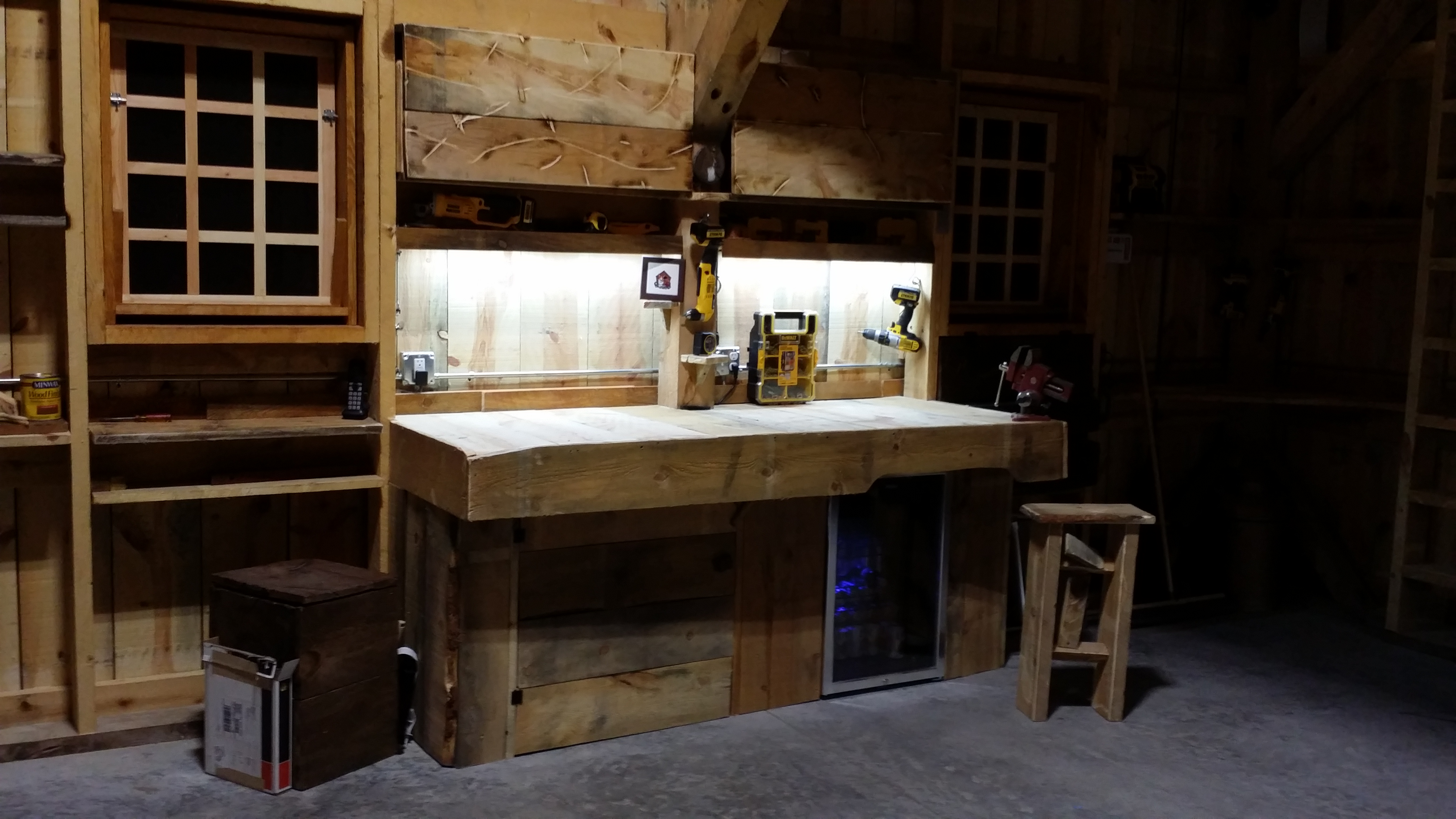 workbench lighting for garage LED lighting solutions