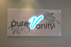 acrylic signs with inspired led lighting