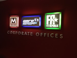 custom signs from Signs by Tomorrow with LIghting from Inspired LED