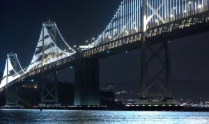 The bay lights led art series san francisco