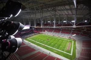 super bowl stadium lighting