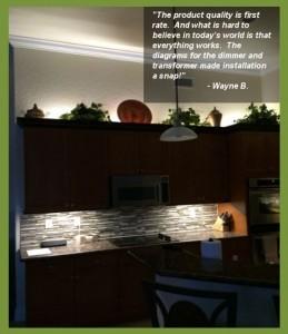 kitchen undercabinet led lighting customer feedback