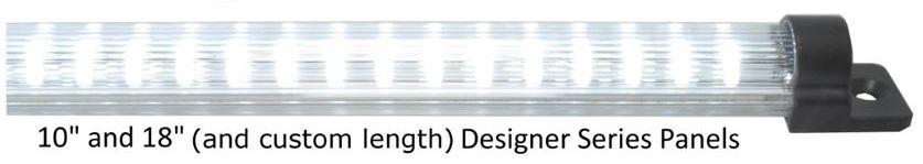 designer series rigid led panel
