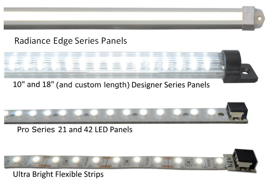 rigid led panel VS Flex comparison
