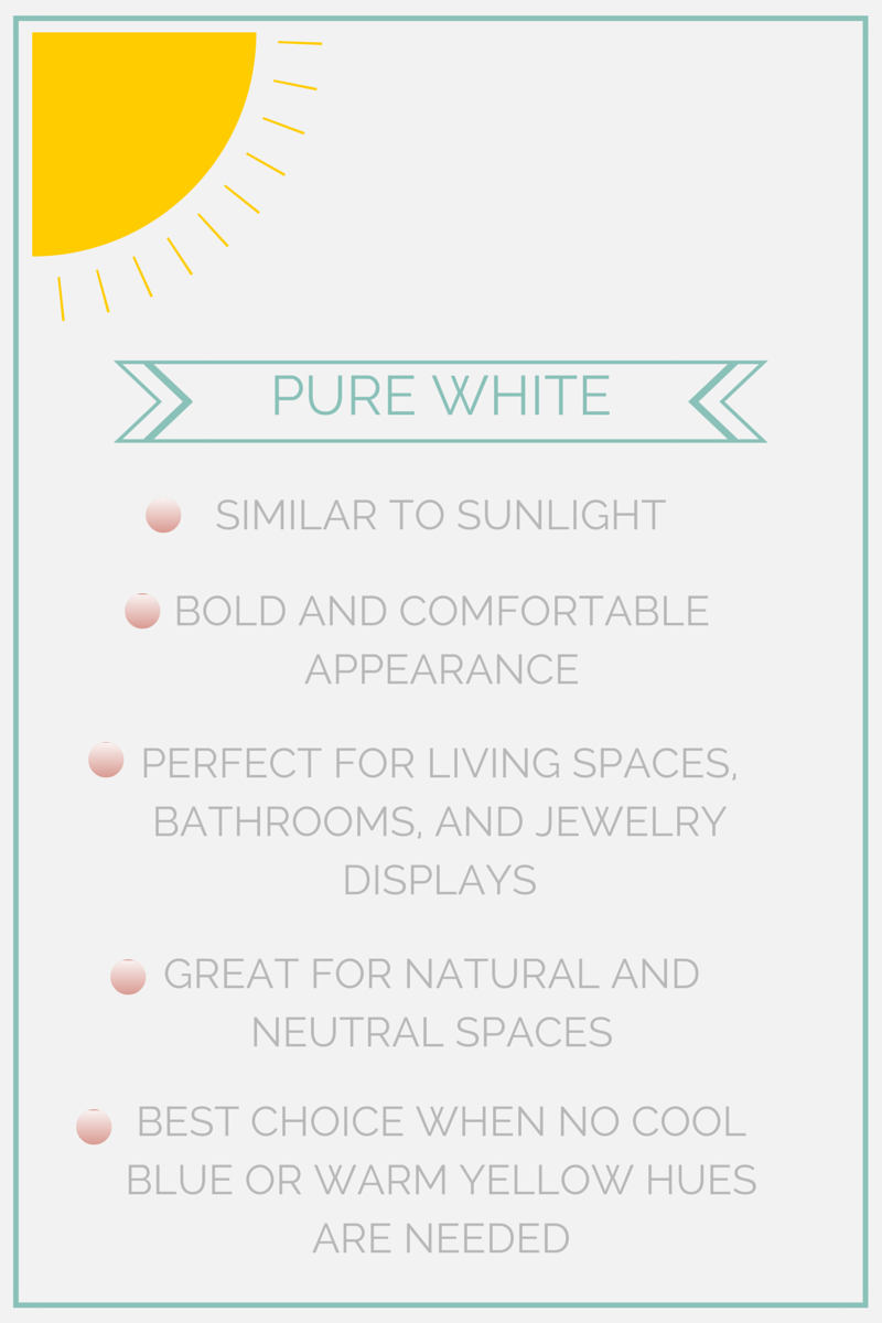 pure white features