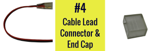 cable lead connector infinity series