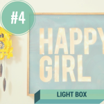DIY light box for dorm room