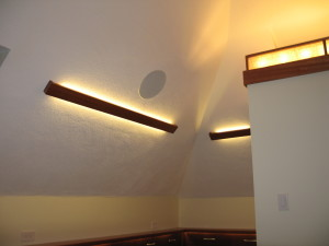Ceiling accent LED lighting