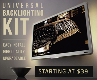 TV backlight kits