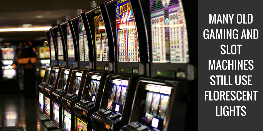 using LEDs in gaming and slot machines