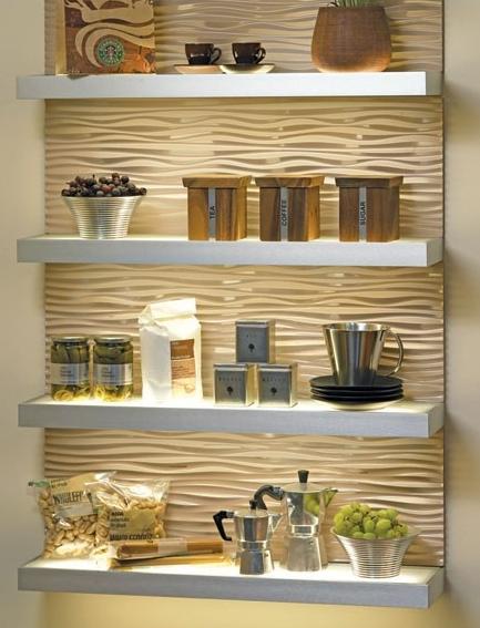 accent shelf led lighting