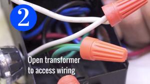 Transformer Wiring Access