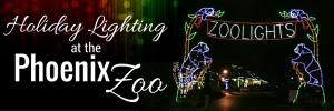 Zoolights Holiday Lighting : at the Phoenix Zoo