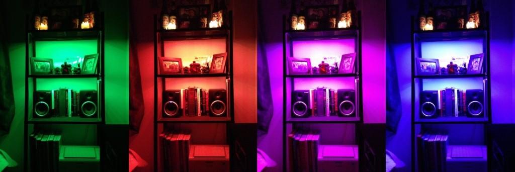 RGB Bookshelf