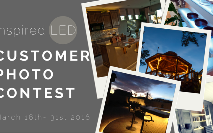 inspired LED photo contest