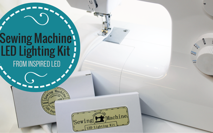 sewing machine LED light kit from Inspired LED