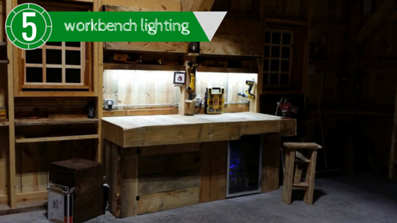 father's bach workbench lighting