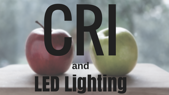 CRI led lighting header