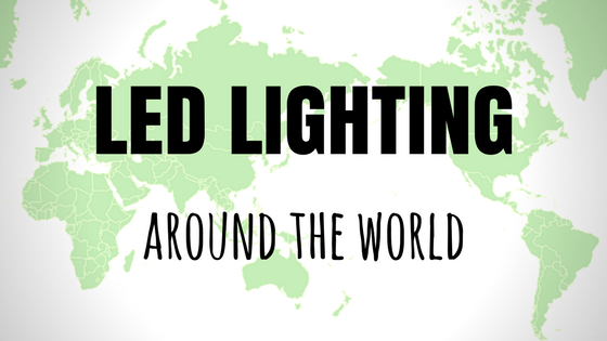 led lighting around the world