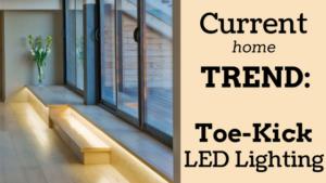 toe-kick lighting header
