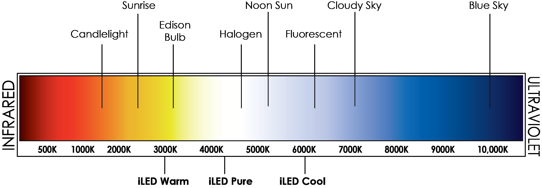 kelvin temp chart